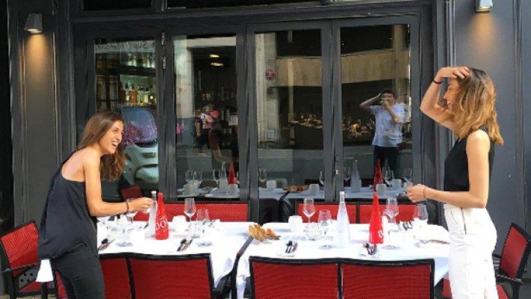 Пред ресторант L'Acajou