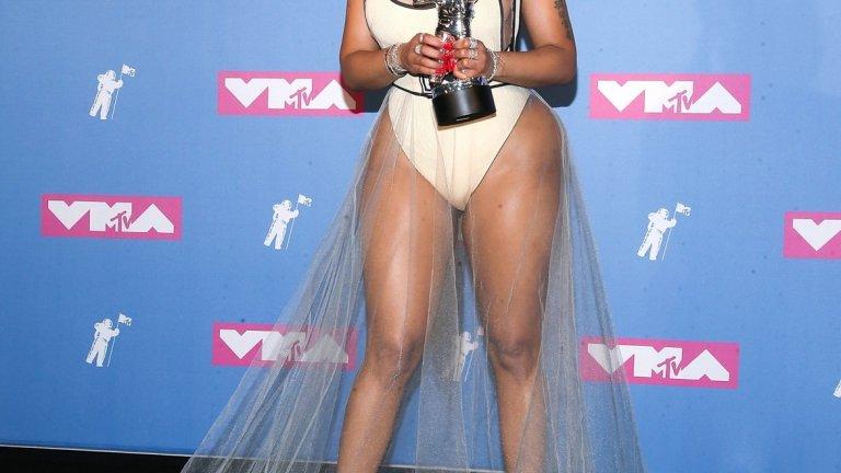 Ники Минаж на MTV Video Music Awards 2018.