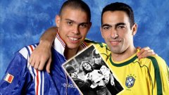 Ерика Ро със свалена блуза, Ронаеф и Джоркалдо: Още незабравими футболни снимки
