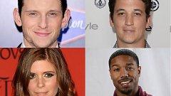 Майлс Телър (горе вдясно), Майкъл Би Джордан (долу вдясно), Кейт Мара и Джейми Бел ще сформират новата Фантастична четворка