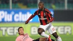 Отборът на Милан допусна четвърта загуба в Италия, а поражението срещу Палермо може да намали аванса пред Интер само на две точки