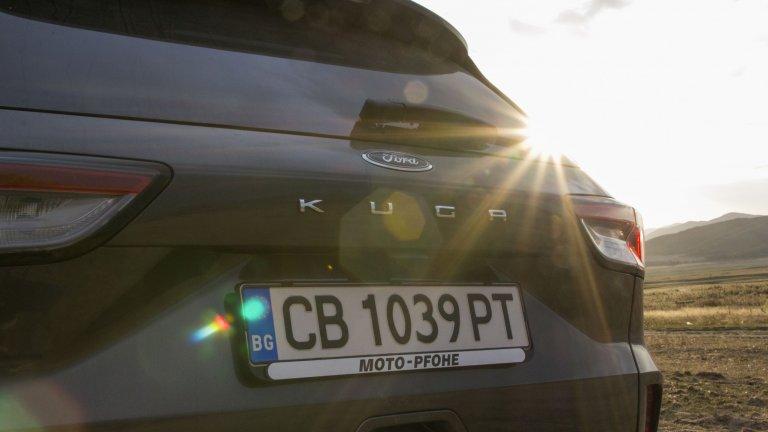 Ford Kuga - тяло на гризли с бързината на тигър