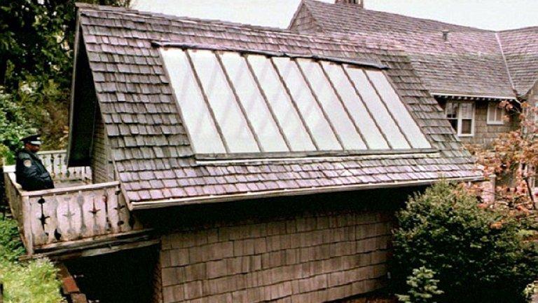 Къщата на Кобейн в родния Сиатъл