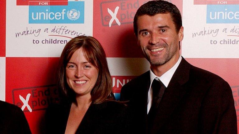 Кийн признава, че когато се запознава с бъдещата си съпруга Тереза, тя го отрязва и славата му на футболист никак не му помага