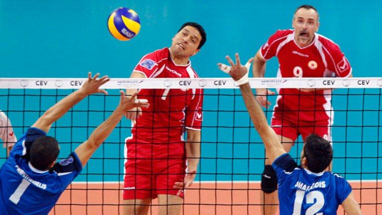 Волейболистите на ЦСКА подновяват тази вечер участието си в Шампионската лига