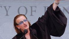 Боно: Искам да вкарам кръв във вените на Европа