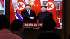 Си Дзинпин посети Пхенян седмица пред среща на Г-20