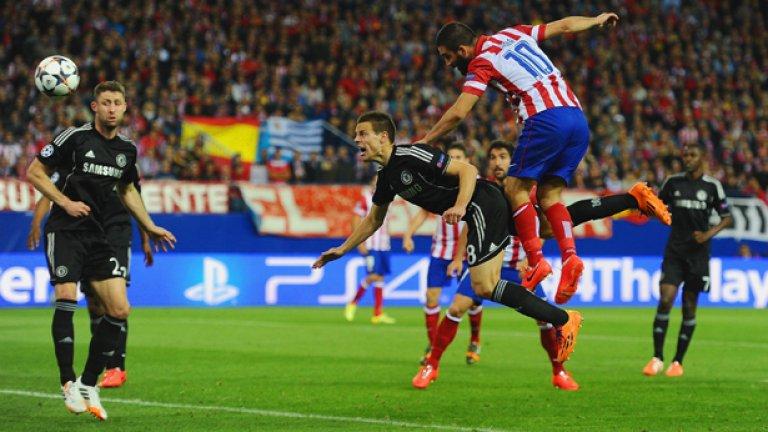 В първия мач Моуриньо стигна до 0:0 въпреки превъзходството на испанците във владеенето на топката и атаките.