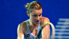 За първи път от пет години насам Сесил Каратанчева се класира на полуфинал от турнир на WTA