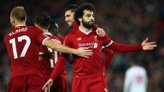 Салах продължи резултатното си представяне от началото на сезона, както и целият отбор на Ливърпул. Египтянинът отбеляза последния гол днес
