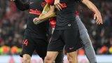 Йоренте и Мората се превърнаха в герои за Атлетико, докато Ливърпул рухна, след като поведе с 2:0