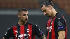 Домакинско унижение за Милан в Лига Европа