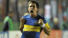 Аржентинският национал Пабло Муче донесе победата на Бока Хуниорс над Флуминензе