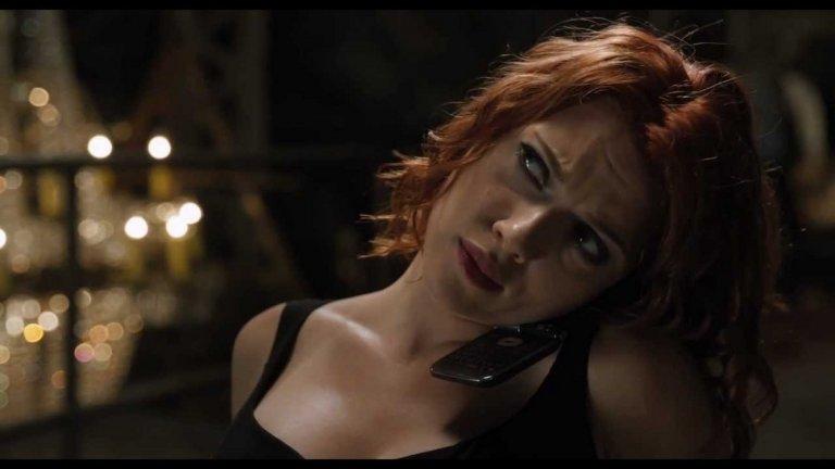 """Black Widow    Премиера: май 2020 г.   Скарлет Йохансон отново влиза в костюма на Наташа Романоф (""""Черната вдовица""""), за да разкаже истинската история на енигматичната бивша наемна убийца от КГБ, която става част от """"Отмъстителите""""."""