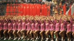 Момент от откриването на Олимпийските игри в Москва, които остават в историята с масовия бойкот и с най-успешното българско участие