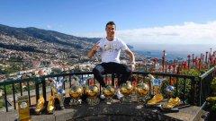 Кристиано Роналдо се радва на невероятна популярност в социалните мрежи.