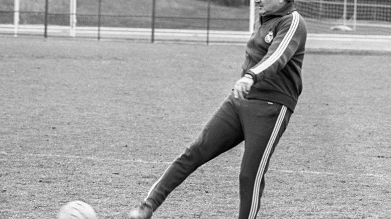 14. Мигел Муньос  Дългогодишен треньор на Реал Мадрид през 60-те и 70-те и същинска легенда - с цели 9 титли на Испания и два трофея от КЕШ.