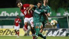 Резерва донесе трудна победа за ЦСКА срещу последния