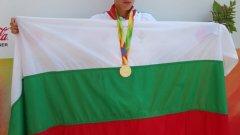 Адриан Андреев грабна титлата в тениса на Европейски младежки олимпийски фестивал в Грузия
