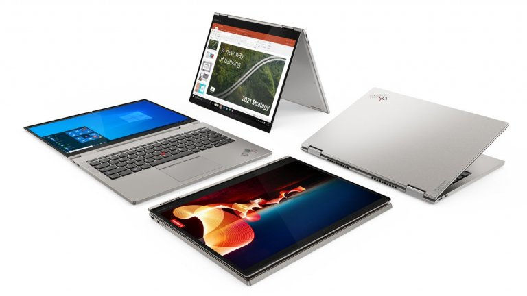 Lenovo ThinkPad X1 Titanium YogaПо време на CES 2021 от Lenovo представят най-тънкия ThinkPad Yoga, който някога са създавали. Компанията държи да подчертае, че се е вслушала внимателно в потребителите си, които настояват за по-модерни и гъвкави устройства, особено в светлината на пандемията. Дисплеят е 13,5 инча, а високоговорителите работят със системата Dolby Atmos.