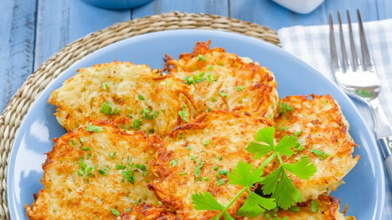 Кюфтета от картофи и тиквички