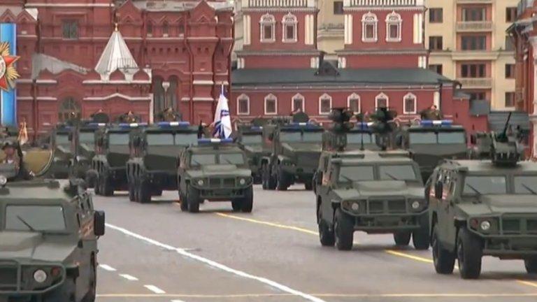 Русия отбелязва 72-рата годишнина от Деня на победата над нацистка Германия с традиционнен парад на Червения площад в Москва.