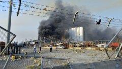Мощната експлозия е станала заради неправилно съхранение на 2750 тона амониева селитра