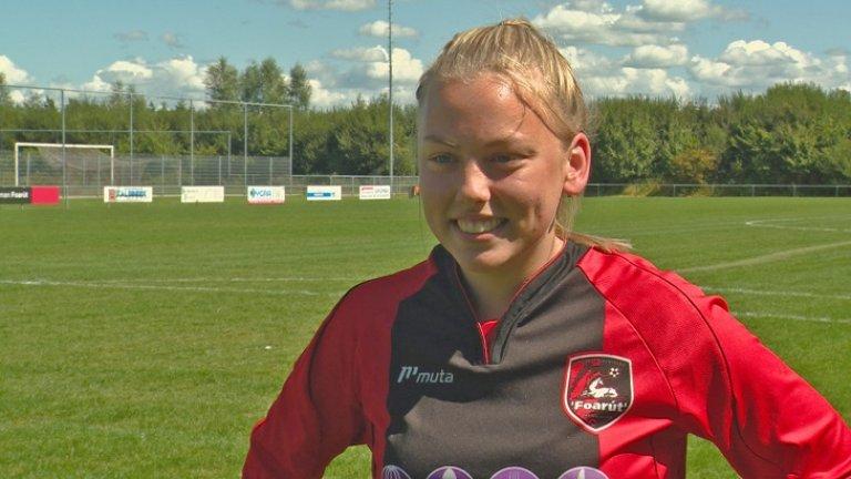 Елен тренира в школата на тима от 5-годишна.