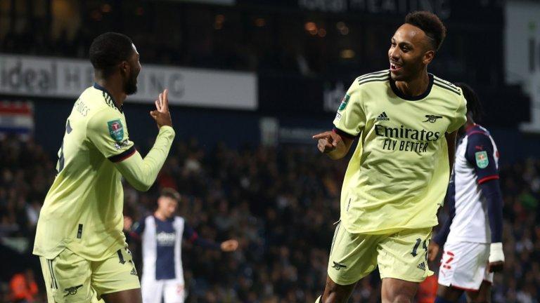 Арсенал се развихри и вкара 6 за първата си победа през сезона