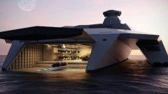 """Dreadnought 2050 - """"космическия"""" кораб на британския военноморски флот"""