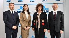 Евгени Бенбасат, Бистра Василева, Дияна Стоянова и Коста Чолаков