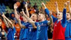 Исландия се класира на европейски футболни финали за първи път в историята си