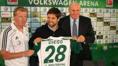 Диего започна блестящо във Волфсбург, но е на път да напусне клуба през това лято