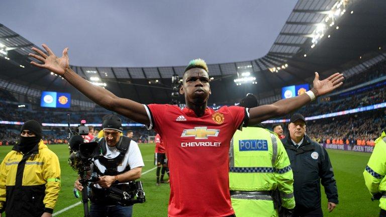 В мач на големи обрати и големи постижения Манчестър Юнайтед излезе победител, а Сити се оказа в най-лошия си период този сезон. Ето пет неща, които научихме от дербито