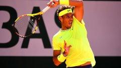 Надал показа мощта си срещу Нишикори и се очаква да бъде по-свеж от Федерер при големия сблъсък