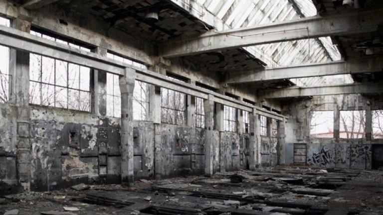 Хиляди затворници са работили тук принудително за военната индустрия