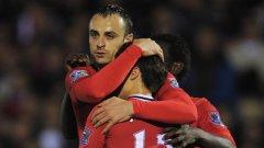 Трансферът на Димитър Бербатов от Тотнъм в Манчестър Юнайтед е втората най-голяма сделка осъществена в последната минута