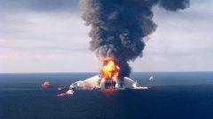Взривът на нефтената платформа на Бритиш петролиъм подпали и Белия дом
