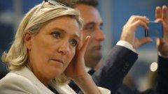Ако спечели президентските избори Марин Льо Пен ще настоява за нова национална валута
