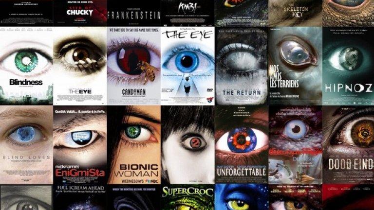 Една от целите на стереотипите при филмовите постери е да подготвят зрителя за типа филм, който го очаква