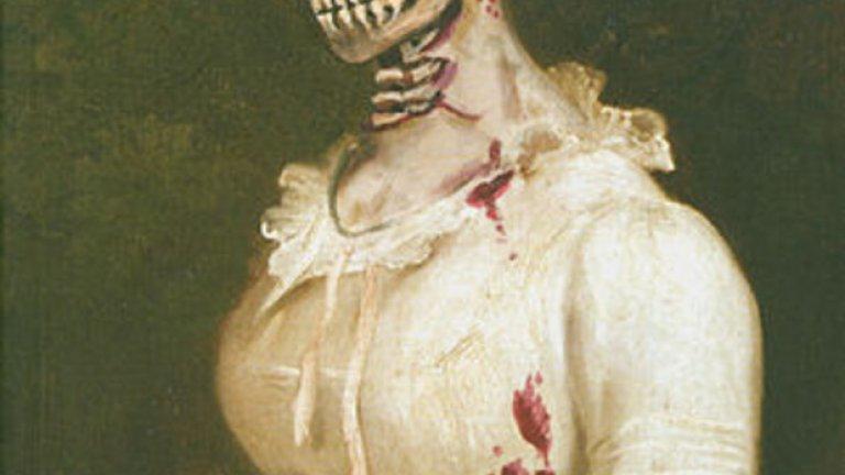 """Корицата на """"Гордост и предразсъдъци и зомбита"""" е зомбифицирана версия на тази от класиката на Джейн Остин. Смелият и широко критикуван роман се появява на американския пазар през 2009 г."""