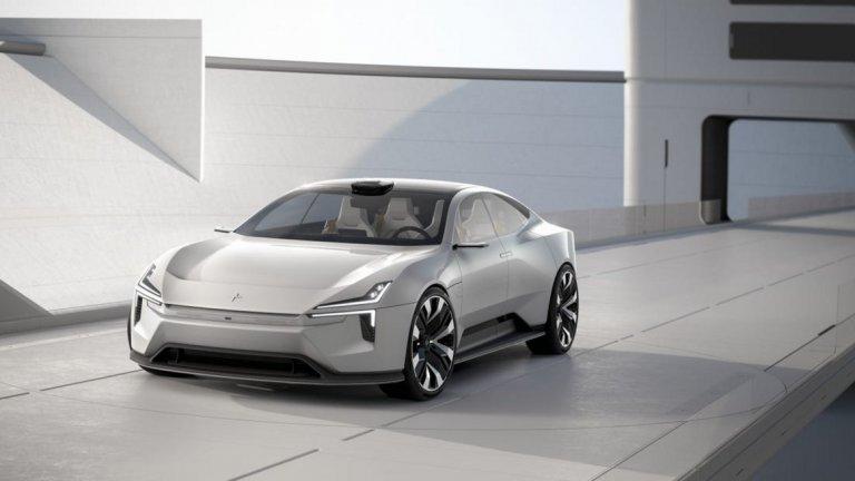Polestar Precept EV Concept   Като собственост на Volvo Polestar би трябвало да са истински посланик на всичко, което компанията иска да проповядва - опазване на природата, съчетано с изчистен скандинавски дизайн. Precept е концептуален електромобил, олицетворение на амбициите за електрифицирано бъдеще под формата на стилни коли, които са наслада за окото.   Percept е с четири врати и стъклен покрив и интериор, изработен от ленени влакна, но имитиращ до съвършенство кожа. Седалките пък са направени от рециклирана пластмаса, като покритието им е специално 3D-принтирано от пластмасови бутилки.   За представянето на пътя на този електромобил не се знае все още нищо, освен че би трябвало да се движи почти напълно автономно, благодарение на редица вградени сензори.