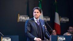 """Джузепе Конте е начело на кабинет на """"Движение 5 звезди"""" и Демократическата партия"""