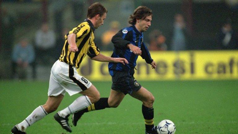 Андреа Пирло и Роналдо в Интер, 1999