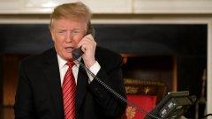 """Действащият президент уговаря щатския секретар на Джорджия да му """"помогне"""" за уреждане на победата в южния щат"""