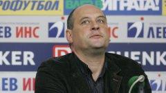 Росен Барчовски е готов да поеме цялата отговорност за представянето в квалификациите