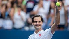 """""""На US Open ме попитаха, казах, че искам да играя в понеделник вечер, но играх във вторник, това е положението"""", заяви Федерер. Подобни случаи обаче не са толкова много."""
