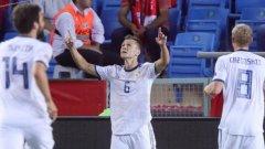 Черишев отбеляза поредния си красив гол, а руснаците затвърдиха добрите впечатления от Световното първенство