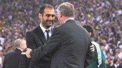 Двама от най-големите треньори на нашето време - Хосеп Гуардиола и сър Алекс Фъргюсън, се срещат за втори път на финал в Шампионската лига. Първият път - през 2009, победи Барселона. В събота предстои да видим дали Манчестър Юнайтед ще вземе реванш