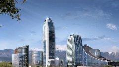 Високият 202.22 м Sky Fort има амбициите да се превърне в най-високата сграда в България